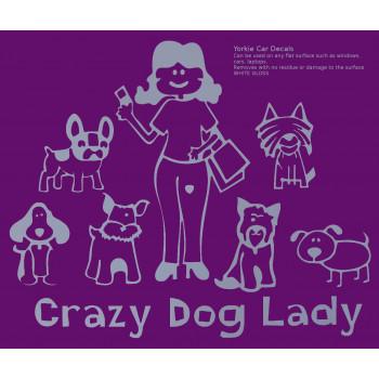 Crazy Dog Lady family