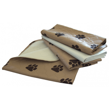 Washable Paw Print Pee Pads