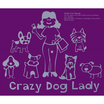 Crazy Dog Lady family