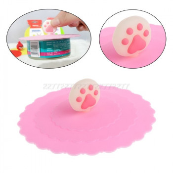 Paw Popping Silicone Lids